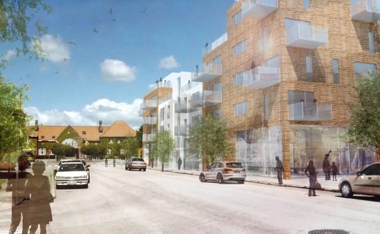 Nytt bostadskvarter. Jag fick arbeta med detaljplansarbete, samt ansvara för 3D-modellering och visualisering. Tengbom arkitekter