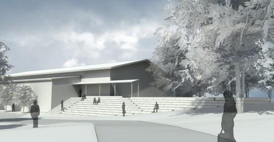 Ny trappa på KTH, jag gjorde: 3D-modellering och visualisering.