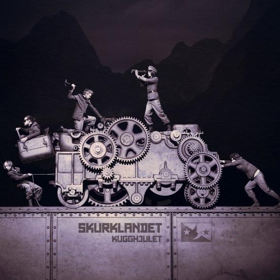 Cd album cover 2013 (Skurklandet)