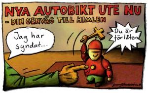Autobikt - din genväg till himlen, publicerad i Lundagård nr 3, 2008