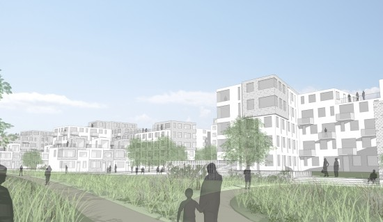 Elinegård, arbete med ny detaljplan för område i Malmö. Mitt jobb: Ta fram visionsbilder, göra 3Dmodeller samt jobba med detaljplan. FOJAB i samarbete med TENGBOM
